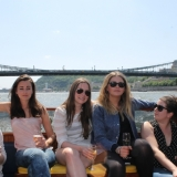 A great afternoon activity before the hen party - Danube Luxury Limousine Boat