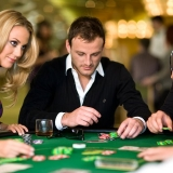 Even if you haven't tried yet, lovely croupiers are happy to teach you the rules of any game - Casino Tour
