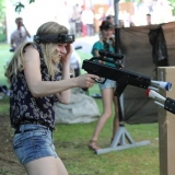 Ever felt like you are the next GI Jane? Now here's your time to show off your skills! - Lasertag