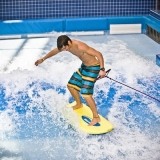 Tired of slides? Try one of the many other activites like surfing - Aquaworld