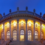 If you ever come to Budapest you can't miss the baths - Turkish Thermal Bath