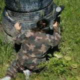 It will definitely give all the hens in the hen party a full on adrenalin hit - Paintball