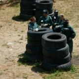 Stay focused, shoot, be a good teamplayer - Paintball