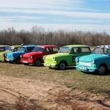 Have the ride of your life on your hen weekend - Trabant Rally