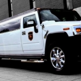 Extra luxury 11-metre  long 16 seater Hummer limo picks your hen party up from the airport. - Hen Hummer Limo H2 Airport Transfer