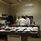 If you wish you even have an opportunity to cook with the chefs - Home Dining